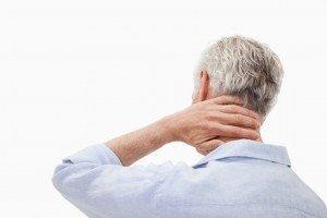 arizona employment lawyer - Man with neck injury