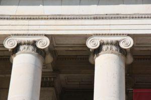 Court House Pillars - Schiffman Law Office